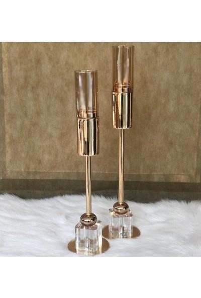 Rossev Şamdan Gold 43 cm
