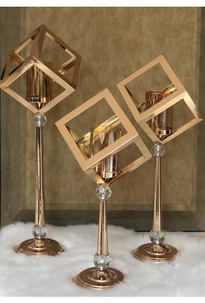 Rossev Şamdan Gold 72 cm