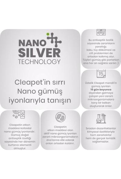 Cleapet Nano Pet Koku Giderici Kedi ve Köpek Havlu (Antibakteriyel)(Tedavi Destekleyici) + Ultra Compact Antibakteriyel Islak Mendil