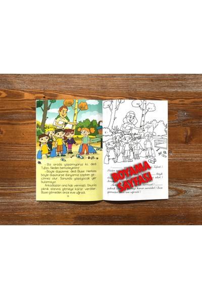 Değerler Eğitimi Hikaye Seti 4 Kitap 4 - 7 Yaş