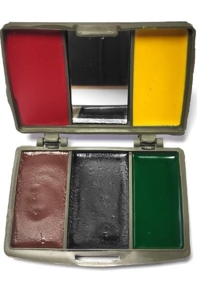Seyhan Kamuflaj Yüz Boyası 5 Renk