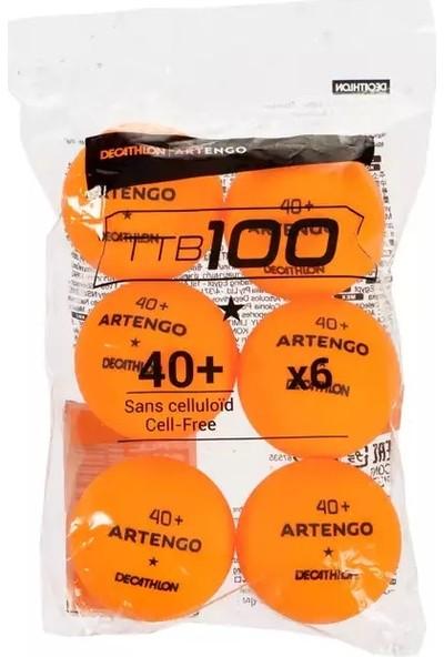 Artego Turuncu 6 Lı 40+ Masa Tenisi Topu 2397079