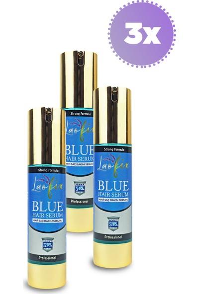 Laofix Doğal Mavi Su Saç Bakım Serumu 50 ml x 3