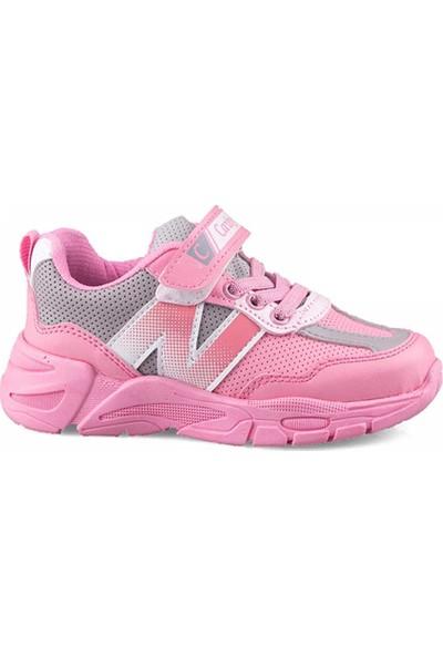 Carby Kız Çocuk Pembe Spor Ayakkabı 2013-1