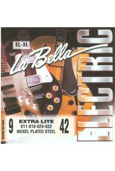 La Bella El-Xl Elektro Gitar Teli 009