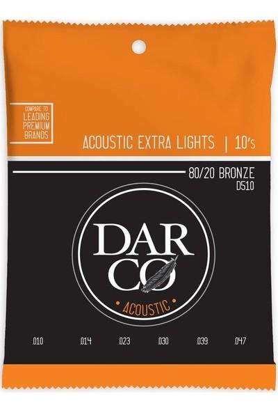 Martin Darco D510 Akustik Gitar Teli -10-47