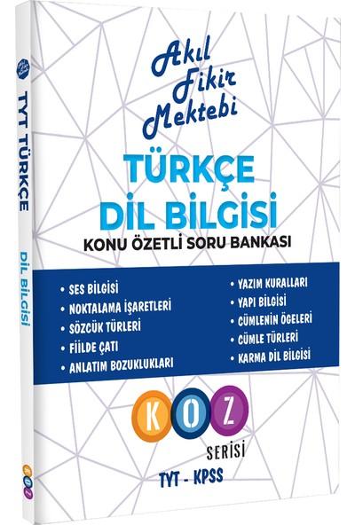 Akıl Fikir Mektebi AFM Türkçe Dil Bilgisi Konu Özetli Soru Bankası
