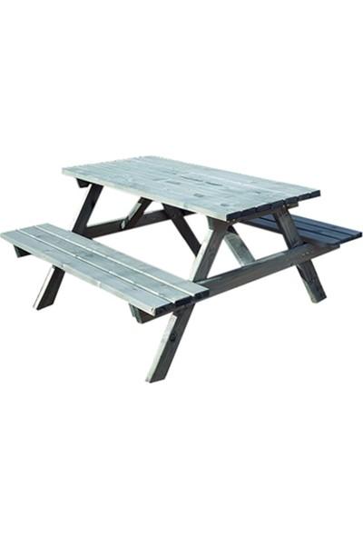 Alaçam Piknik Masası 6 Kişilik Yeşil