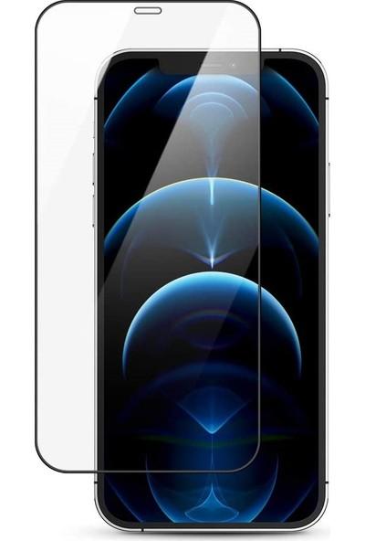 "Melikzade Apple iPhone 12 Pro Max 6.7"" Tam Kaplayan 5d Ekran Koruyucu Cam"