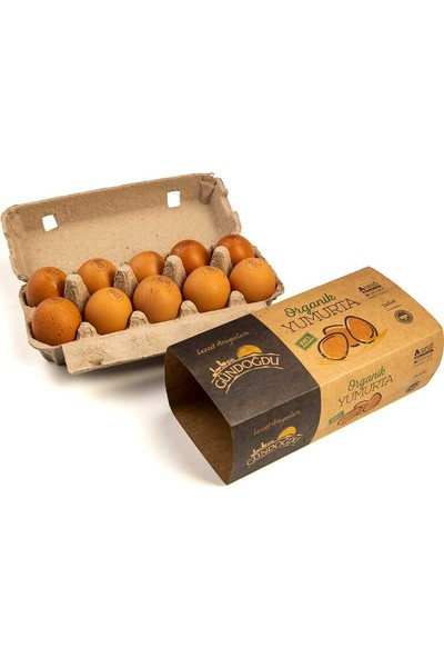 Gündoğdu Organik Yumurta 10 Lu