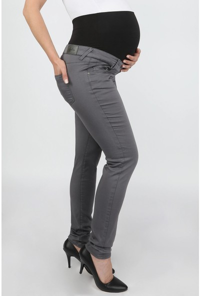 Balins 5 Cepli Hamile Pantolon Gri