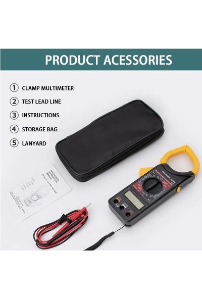 Sinometer M266 Dijital Pens Ampermetre Voltmetre