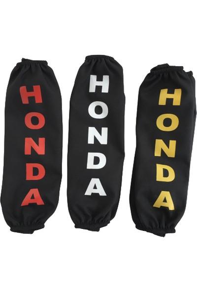 OEM Honda Forza Pcx Ps Amartisör Çorabı Siyah Kırmızı %100 Yerli Ürün