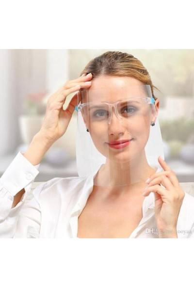 Erg Gözlük Siperlik Koruyucu Yüz Kalkanı