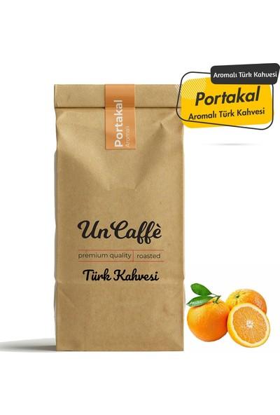Un Caffe Portakal Aromalı Türk Kahvesi 250 gr