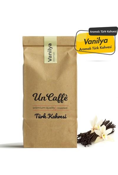 Un Caffe Vanilya Aromalı Türk Kahvesi 250 gr