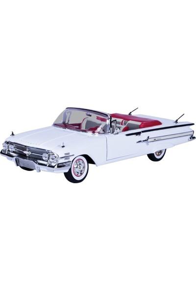 Vardem Chevy Impala 1960 1:18 Ölçek Die Cast Oyuncak Araba