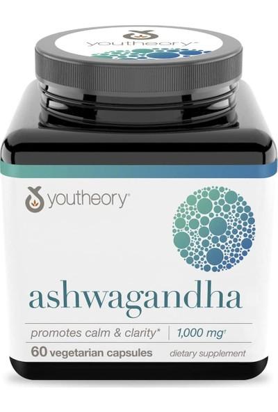 Youtheory Ashwagandha 60 Vegan Kapsül