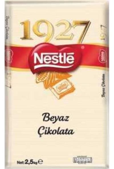 Nestle 1927 Kuvertür Çikolata Beyaz 2,5 kg