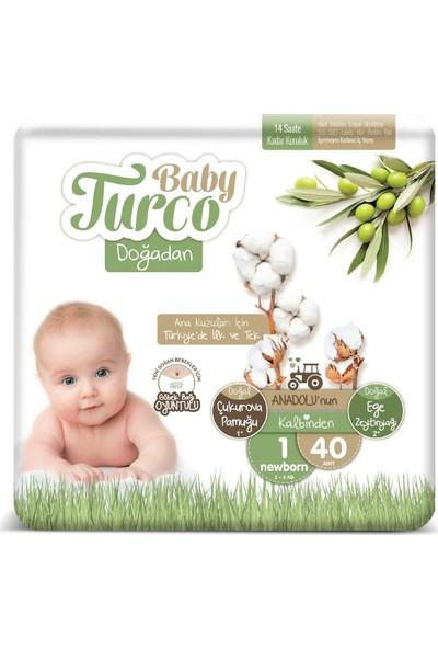 Baby Turco Doğadan 1 Numara Newborn 2-5 kg 40 'li