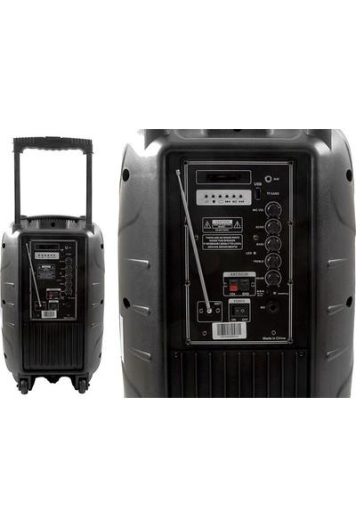 Mikado MD-87KP Plus Siyah Usb+Fm+Tf Kart Destekli Kablosuz Vhf El + Kafa Mic. Öğretmen/toplantı Anfi