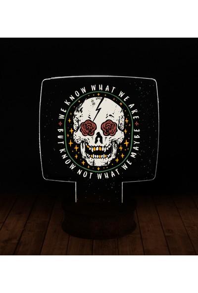 eJOYA Modern Desenli 3 Boyutlu 3D Led Gece Lambası 90274