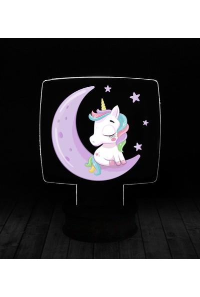 eJOYA Modern Desenli 3 Boyutlu 3D Led Gece Lambası 90239