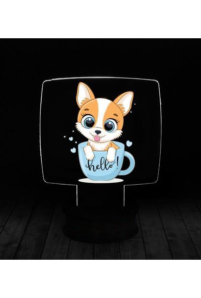 eJOYA Modern Desenli 3 Boyutlu 3D Led Gece Lambası 90235