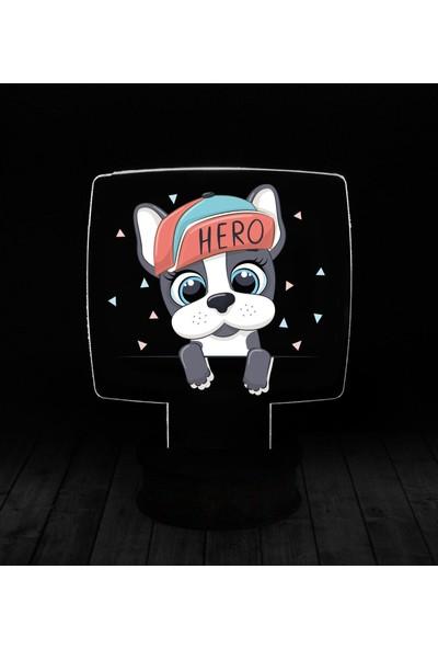 eJOYA Modern Desenli 3 Boyutlu 3D Led Gece Lambası 90234