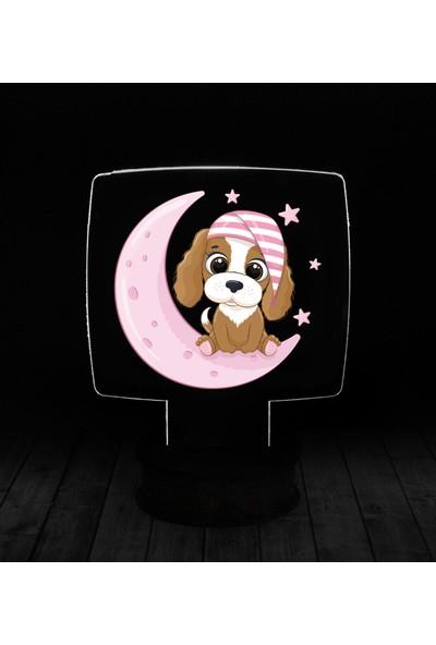 eJOYA Modern Desenli 3 Boyutlu 3D Led Gece Lambası 90232