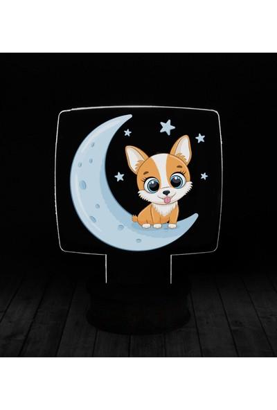 eJOYA Modern Desenli 3 Boyutlu 3D Led Gece Lambası 90231