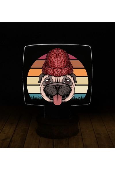 eJOYA Modern Desenli 3 Boyutlu 3D Led Gece Lambası 90217