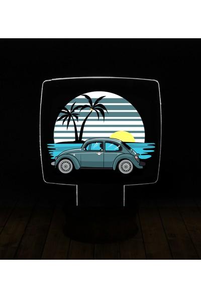 eJOYA Modern Desenli 3 Boyutlu 3D Led Gece Lambası 90205
