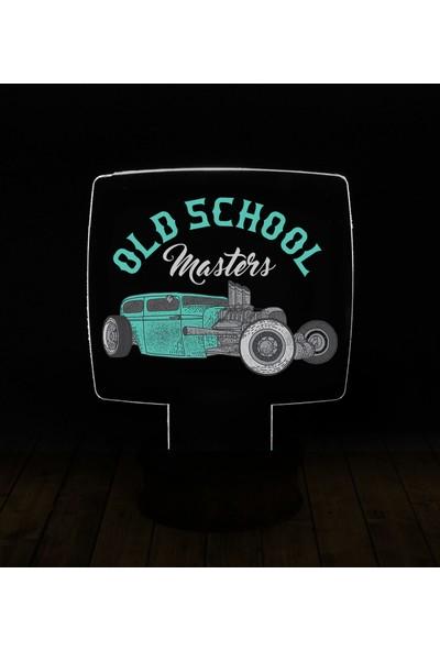 eJOYA Modern Desenli 3 Boyutlu 3D Led Gece Lambası 90189