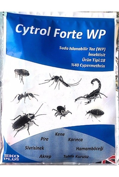Cytrol Forte Wp Genel Haşere Ilacı 20 gr