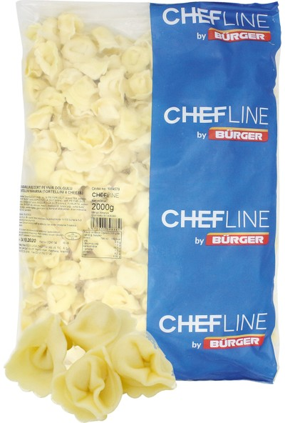 Chefline Dört Peynirli Tortellini 2 kg