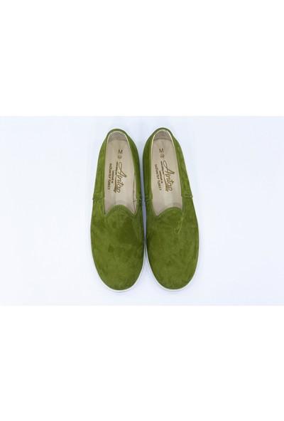 Aintap Nubuk Deri Erkek Ayakkabı Eva Taban Gaziantep Yemeni