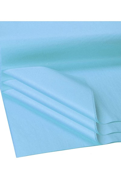 REVE REKLAM Açık Mavi 50X70 cm Pelur Kağıt (10 Adet)