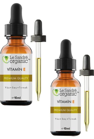 Le Sandre Organics E Vitamini 10 ml + 10 ml Ikili Set
