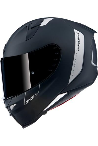mt Kask Helmets Revenge 2 Solid Mat Siyah