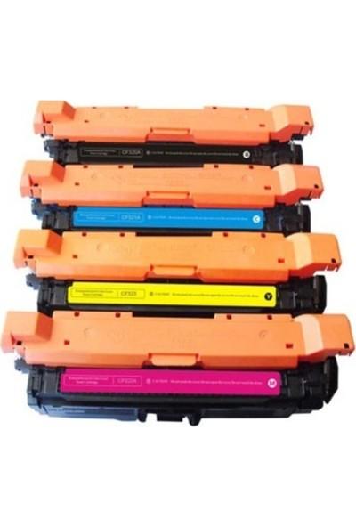 Orkan Toner Hp CF320A / CF321A /CF322A / CF323A Uyumlu Set Muadil Toner