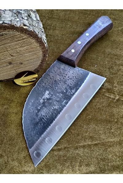 Taşçı Dövme Çelik Şef Bıçağı Paslanmaz Çelik