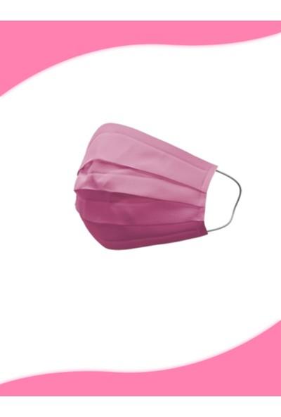 Form Cerrahi Maske ( Pembe ) 50'li Telli
