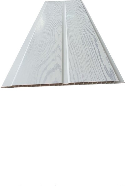 Koç Lambiri-Pastik Lambri Gri Meşe Fugalı -Tavan ve Duvar-10 Adet-20 cm x 3 m 6 Metrekare