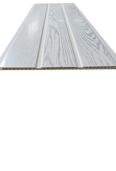 Koç Lambiri-Plastik Lambri Gri Meşe Fugalı -Tavan ve Duvar-10 Adet-25 cm x 3 m 7.5 Metrekare