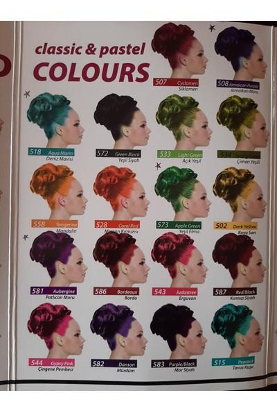 Jamaican Jeans Colours Saç Boyası 518 Deniz Mavi 250 ml