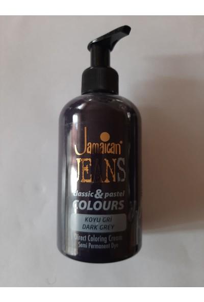 Jamaican Jeans Colours Saç Boyası 597 Koyu Gri