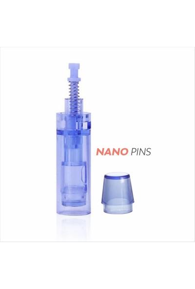 Ekai Dermapen Iğnesi Mavi Kapaklı Nano Kartuş-10 Adet