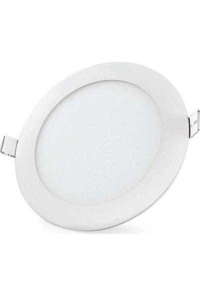 """Voltek 3 Watt 2.5"""" Yuvarlak Slim LED Panel Armatür Beyaz 6500 K"""