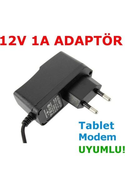 Mtc Adaptör 12V 1A Ac/dc Adaptör 12V Ac Adaptör Switch Mode Korumalı Tablet /modem 12V Adaptör